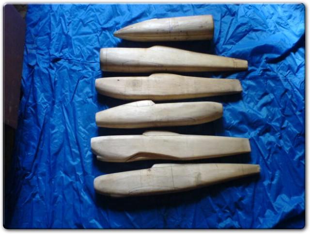 Деревянные болванки для изготовления бутылочника
