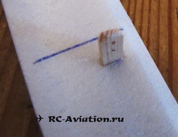 Изготовление пепелаца. Авиамодель из одной потолочной плитки