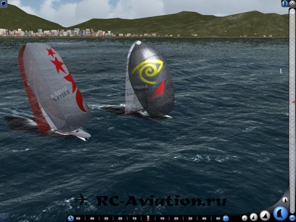 Виртуальный шкипер Симулятор гоночной яхты
