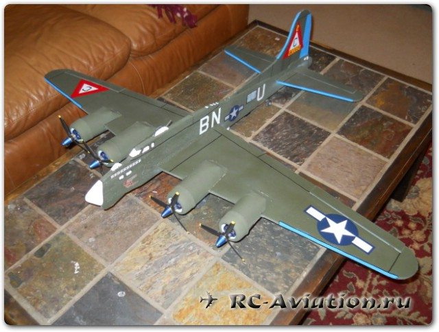 RC boeing b-17f