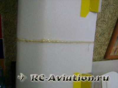 Авиамодель из потолочной плитки Cessna 150