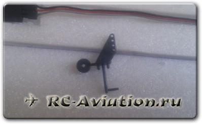 Самодельный минипланер на радиоуправлении