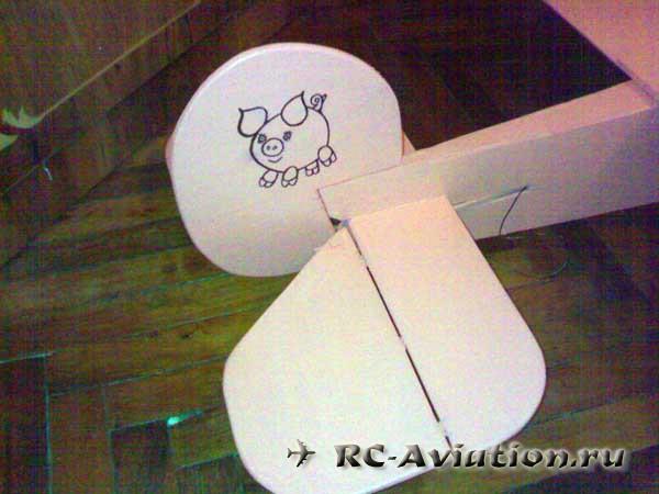 Авиамодель crazy pig