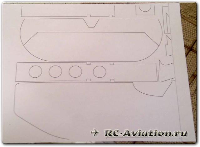 Самодельная модель самолета Manon 3D