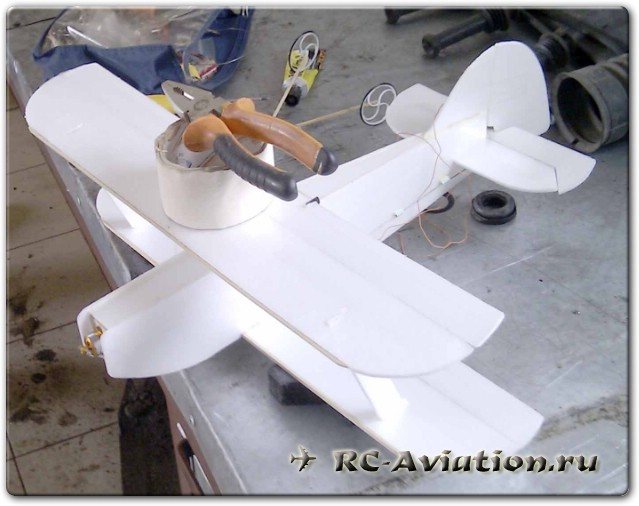 как я делал самолет Manon 3D