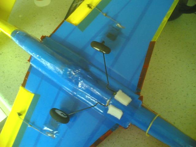 Изготовление посадочного шасси