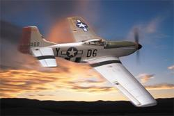 Авиамодель Mustang P-51D