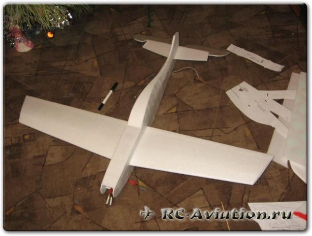 модель самолета для высшего пилотажа Ultron-3D