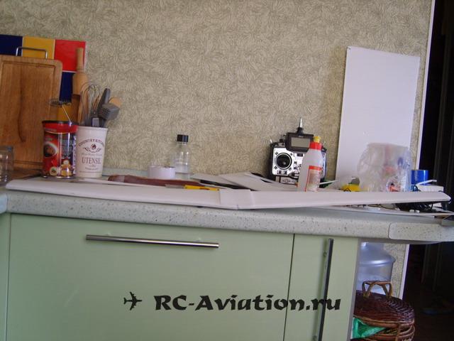 крыло из потолочки для самодельной авиамодели