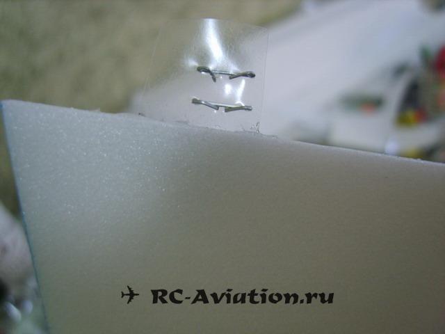 Самодельные петли для авиамодели