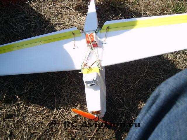 FPV на самодельной авиамодели