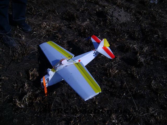 последствия полета авиамодели