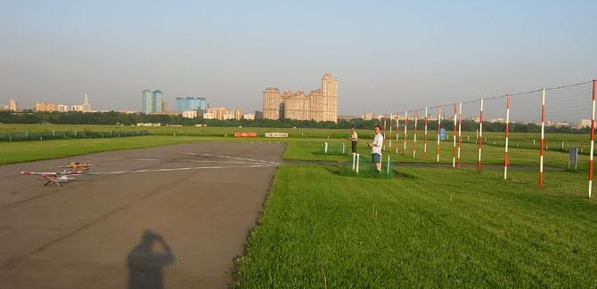 Тушинское поле для полетов