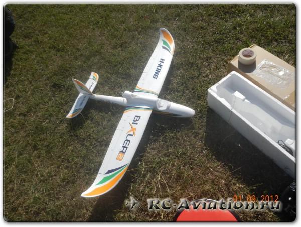 Радиоуправляемая модель самолета Bixler 2 готовая к полету