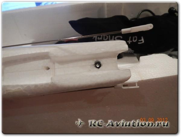 Модернизация самолета Bixler 2