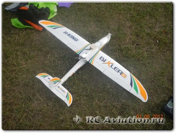 Радиоуправляемая авиамодель Bixler 2 с FPV