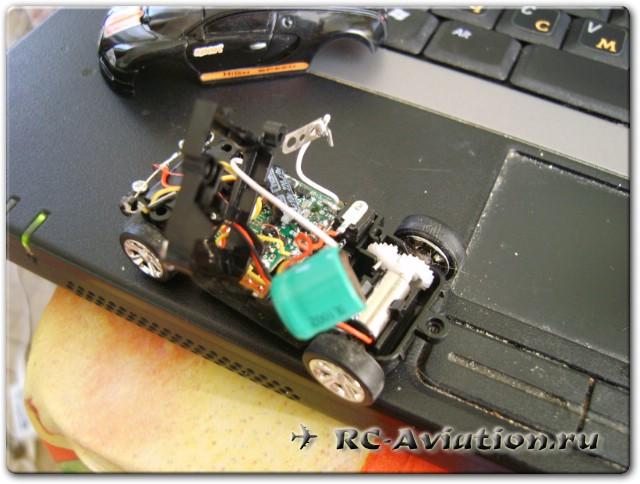 радиоуправляемая модель автомобиля