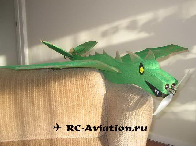 авиамодель дракон
