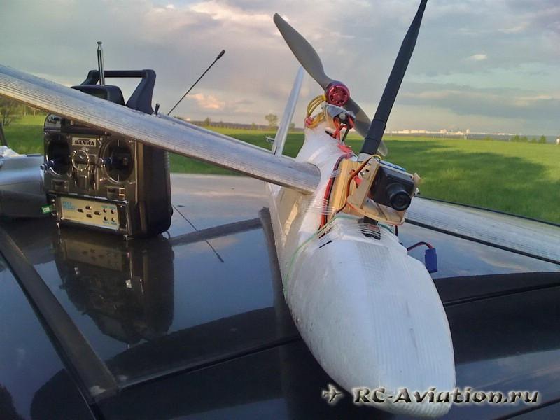 Авиамодель с fpv