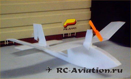 миниавиамодель летающая лодка