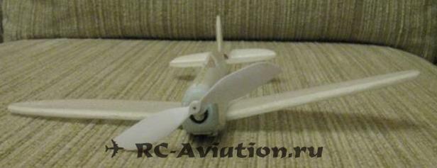 как сделать авиамодель из сайзера (минимашинки)