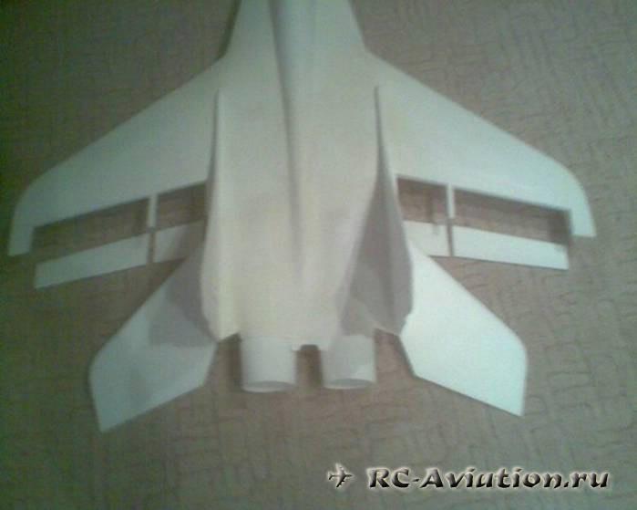Самолет из гипса своими руками