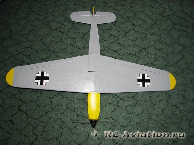 Авиамодель своими руками bf-109