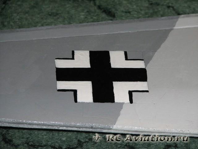 моя авиамодель bf-109