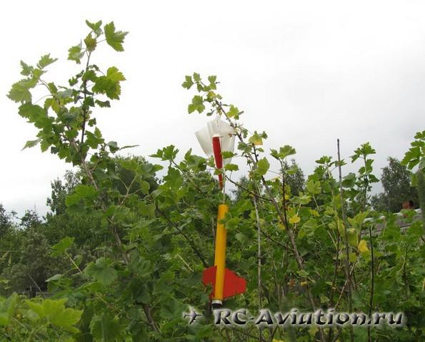 Ракетный моделизм - обзор испытания ракеты