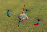 Квадрокоптер для Авиасимулятора Reflex-XTR