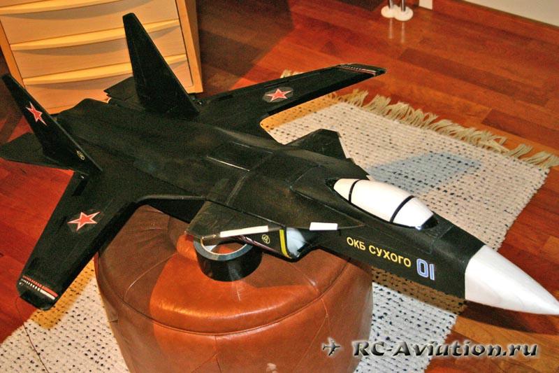 Изготовление авиамодели Su-47 своими руками