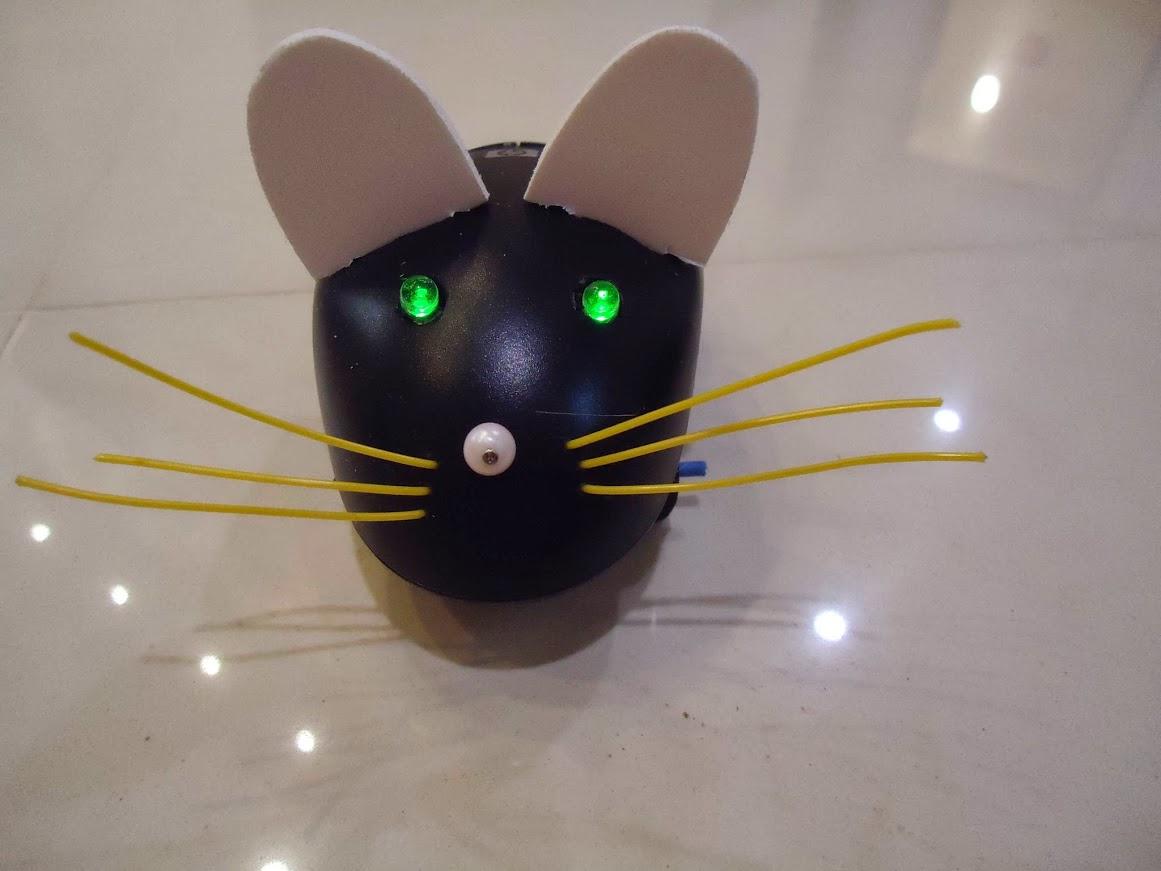 Как сделать мышку для кошки 465