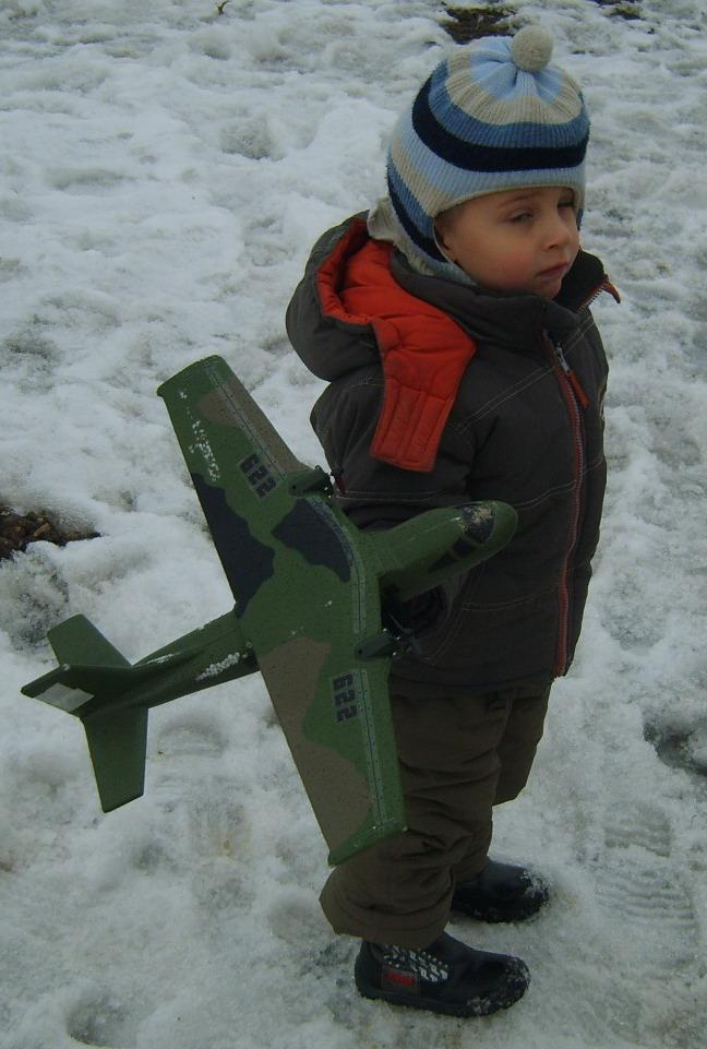 свободно летающая авиамодель