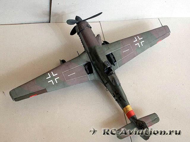 Стендовая авиамодель Focke Wulf Ta-152H