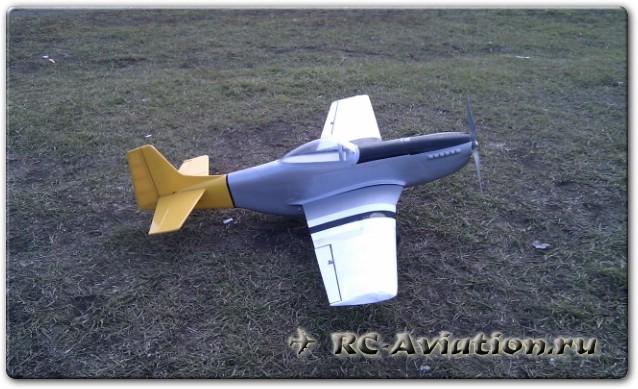 авиамодель Мустанг P-51D
