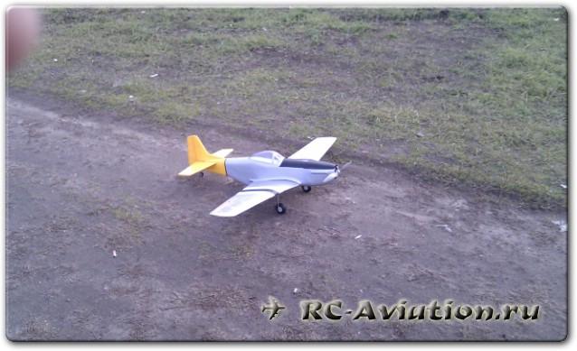 Модель самолета радиоуправляемая