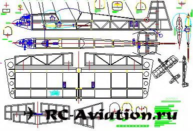 чертежи 3D авиамодели