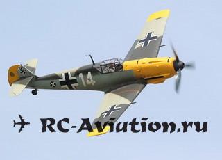 Чертеж авиамодели Bf 109