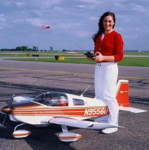 Чертежи авиамоделей. Большая авиамодель Lunx