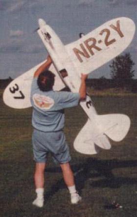 Чертежи авиамоделей. Большая авиамодель Howard Pete