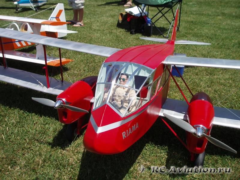 Чертежи радиоуправляемеой авиамодели