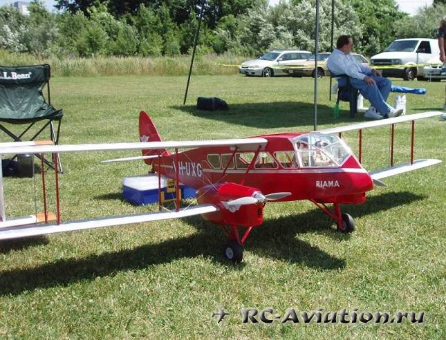 Чертежи RC авиамодели