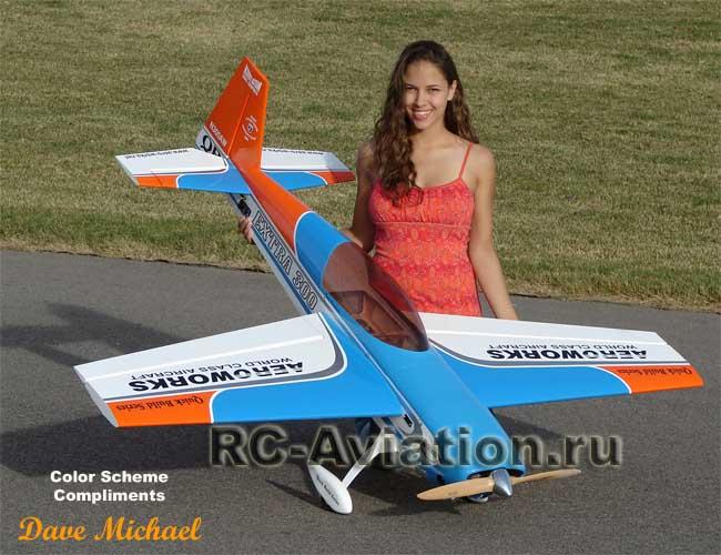 Авиамодель Extra 300 своими руками