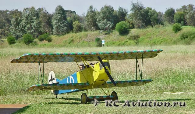 чертежи Fokker D.VII