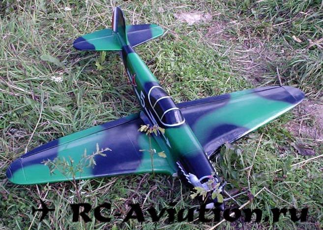 Чертеж авиамодели Як-3 для изготовления своими руками