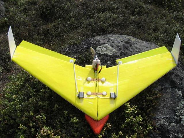 Как сделать летающее крыло