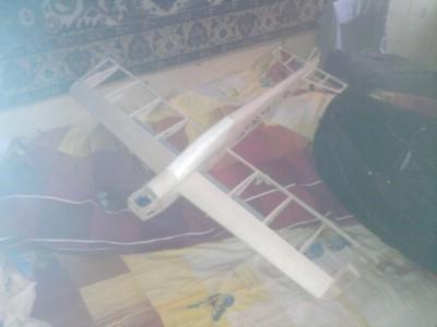Чертежи авиамодели под лазерную резку