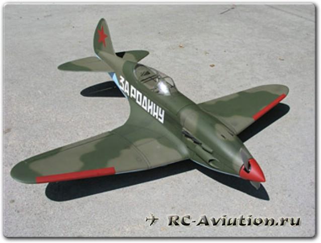Чертежи авиамодели МиГ 3