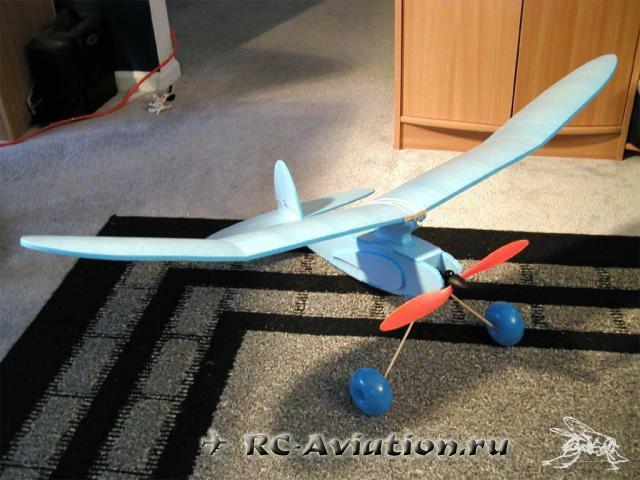 Авиамодель которая летает сама