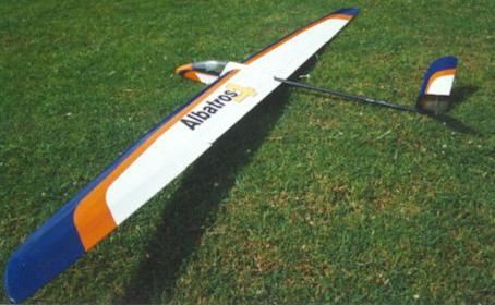 Чертежи планера Albatros 4